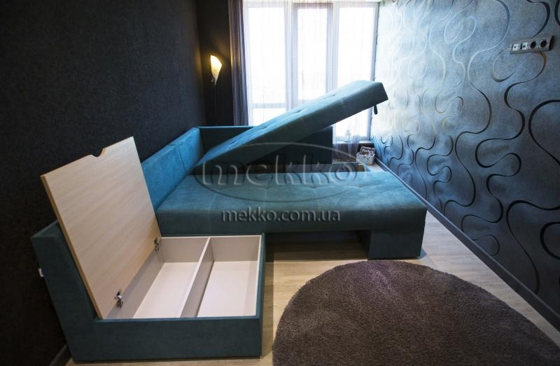 Кутовий диван з поворотним механізмом (Mercury) Меркурій ф-ка Мекко (Ортопедичний) - 3000*2150мм-7