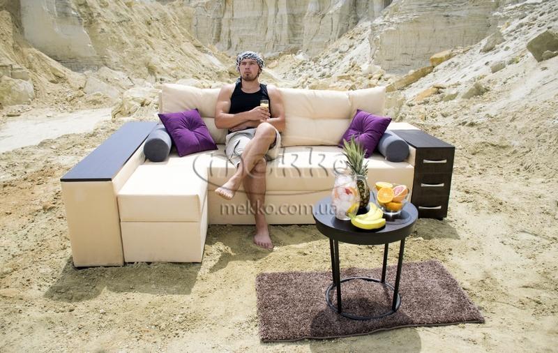 Ортопедичний кутовий диван Cube Shuttle NOVO (Куб Шатл Ново) ф-ка Мекко (2,65*1,65м)-6