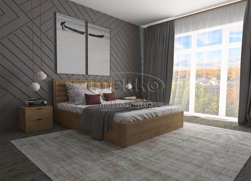 Ліжко Лауро з Підйомником (масив бука /масив дуба) T.Q.Project